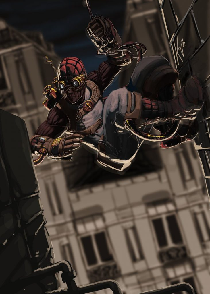 Steampunk Spider-Man