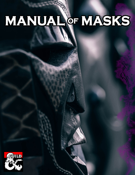 Manual of Masks Cover Preview