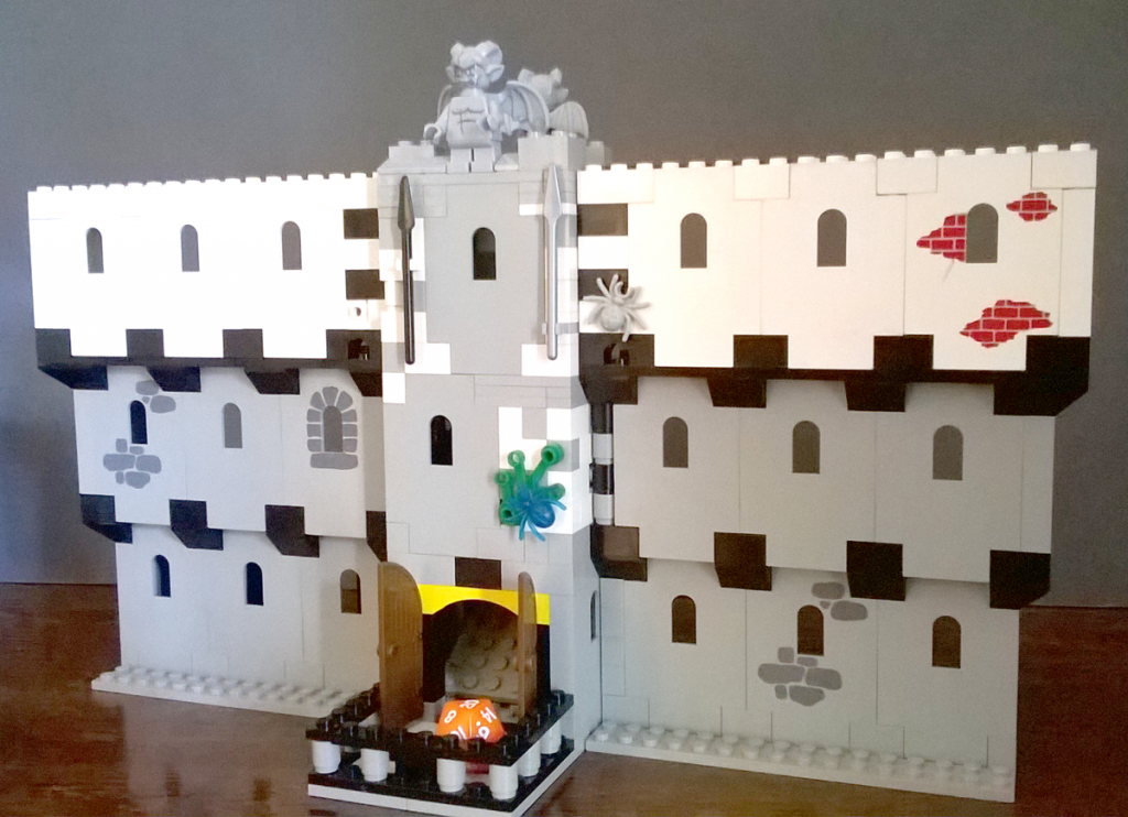 Lego Dice Tower and GM Screen