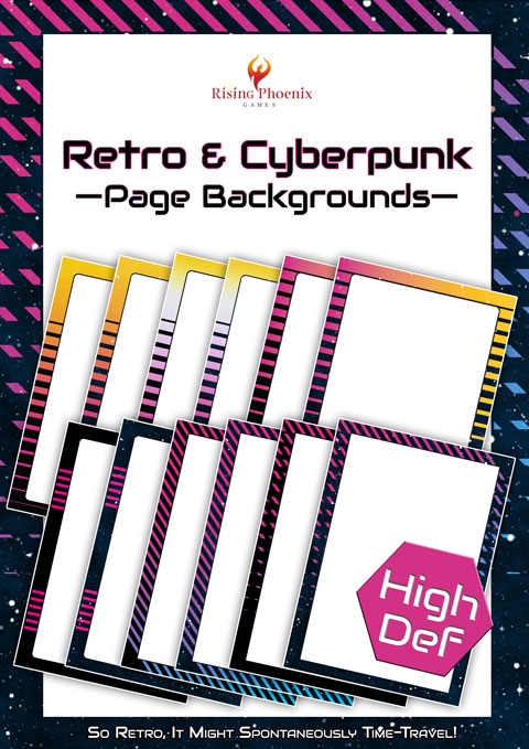 Page Background Set - Funding Outrun
